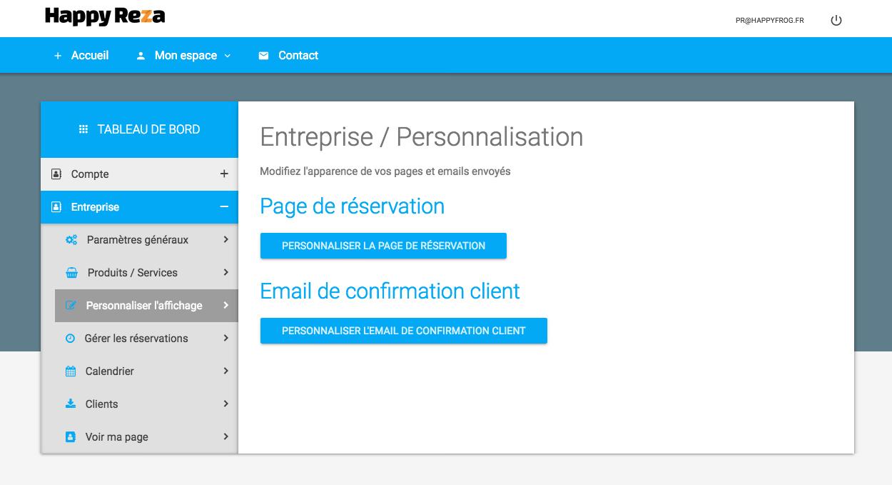 ecran-personnalisation